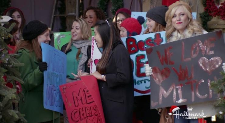 on the twelfth day of christmas hallmark movie cast